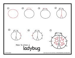 ladybug drawing black and white ladybug coloring pages printable