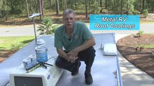 Dicor Epdm Rubber Roofing Coating System by Coating Your Rv Roof With Dicor U0027s Metal Roof Coating System Youtube