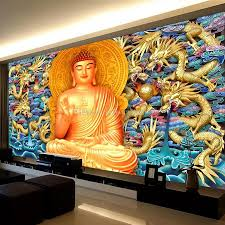 gold embossed dragon wall mural golden buddha wallpaper 3d gold embossed dragon wall mural golden buddha wallpaper 3d wallpaper bedroom living room ceiling hotel restaurant buddhism art room decor computer wallpaper