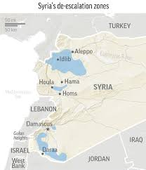 Map Of Syria And Russia Russia Us Restore Syria U0027deconfliction U0027 Channel