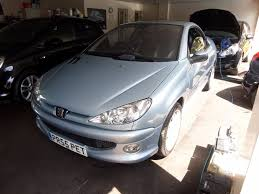 used peugeot 206 cc convertible 1 6 hdi allure 2dr in romford