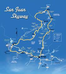 san juan map san juan skyway mapofficial tourism site of durango colorado