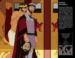 david and jonathan same love between men in the bible