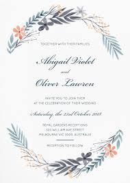 Invatations Floral Wedding Invitations Wedding Invites U0026 Cards