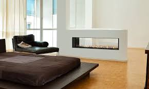 gemini 60 c thru dv fireplace distributed black painted
