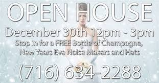nye noisemakers open house w free bottle of chagne and nye noise makers at