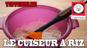 comment cuisiner le riz comment cuire du riz cuiseur a riz tupperware au micro ondes