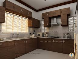 intricate kerala kitchen interior design kerala home design floor