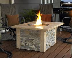 accessories exciting tall grey brick stone wall propane fire pits