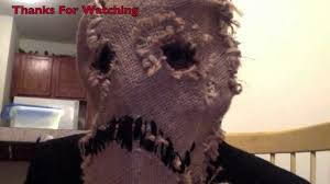 scarecrow halloween mask batman begins scarecrow mask handmade youtube