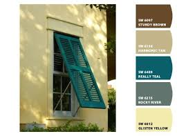exterior paint colors green shutters grey shutter pale yellow