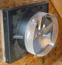 gable attic fan installation installing an attic fan attic fan roof design and attic