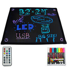 lighted message board signs led lighted signs illuminated writable 23 x 18 writing message