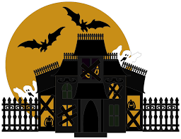 halloween silhouette png halloween house png transparent picture png mart