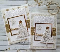 gold inspired christmas cards loving life u0027s blessings