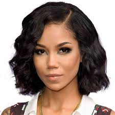 hairline sparing black women hairstyles 250 density short body wave human hair bob wig for women natural