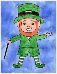 leprechaun art projects for kids