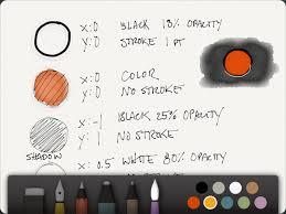 coolest tech u201cpaper u201d ipad sketch drawing app express your