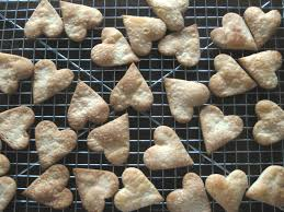 heart shaped crackers corn galley kitchen