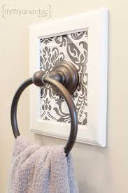Bathroom Towel Holder 32 Of The Most Genius Diy Projects To Keep Bath Towels Organized