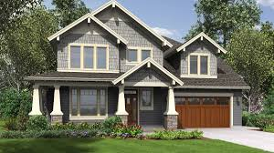 amenity rich nw craftsman plan with small footprint and huge