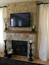 Mounting A Tv Over A Gas Fireplace by Lareira Beach House Decor Pinterest Living Rooms Room And