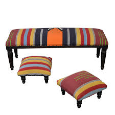 furniture kilim ottoman leather ottomans with storage leather