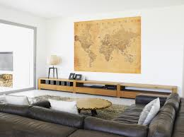 world map mural kids wall stickers ireland world map mural for a office