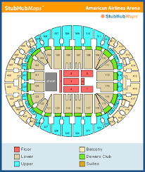 American Airlines Floor Plan American Airlines Arena Calendario Y Información Latest Cbs