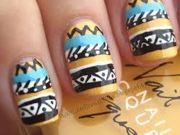 102 best aztec nails images on pinterest aztec nails make up