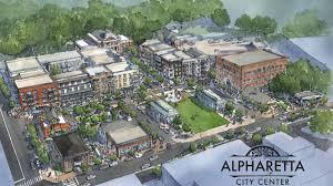 alpharetta city center breaks ground reveals more tenants