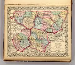 West Virginia Map With Counties by Wetzel Monongalia Marion Doddridge Harrison Counties David