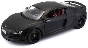 audi supercar black maisto 36190 1 18 scale audi r8 gt model car color may vary
