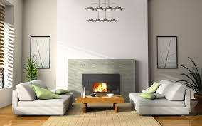 modern fur rug decoration white wooden floor living rooms with