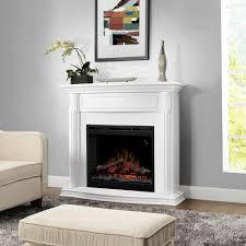 fire pit whitectric fireplace media centerwhite heater corner tv