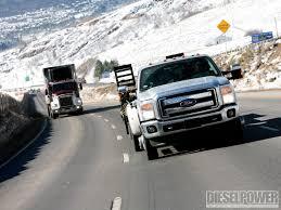 Ford F350 Ramp Truck - king of the hill silverado vs super duty diesel power magazine