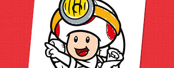 Capitaine Toad à colorier  Nintendo Kids