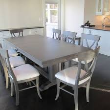 Dining Tables Grey Dining Table In Maple With Driftwood Grey Stain Kitchen Table
