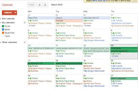 how to use google calendar for schedule work and family tasks