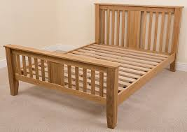 boston 6ft solid oak super king size bed frame 222 x 194 x 110 cm