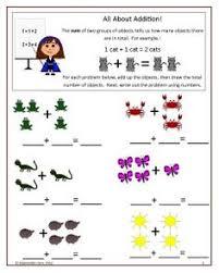 printable kindergarten worksheets addition worksheet free