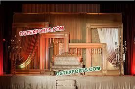 wedding backdrop on stage stage backdrop photo frame