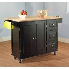 amazon com sundance kitchen cart black kitchen u0026 dining