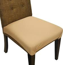 plastic chair covers for dining room chairs dining chair seat cover and protector sandstone tan dining