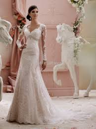 Greek Style Wedding Dresses Modest Fit And Flare Wedding Dress With Sleeves Naf Dresses