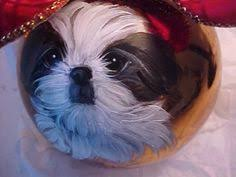 shih tzu ornaments rainforest islands ferry