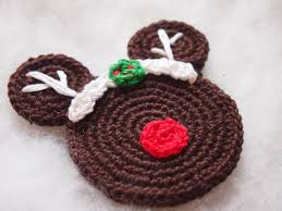 christmas ornament mickey mouse minnie mouse crochet pattern the