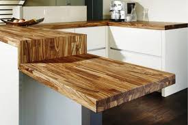 kitchen counter top ideas amazing wood kitchen countertop ideas adding look to modern
