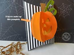 it u0027s written on the wall 3d stitched halloween pumpkin treat box
