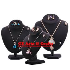 ring holder necklace jewelry images Necklace display stand mannequin necklace earring ring holder jpg